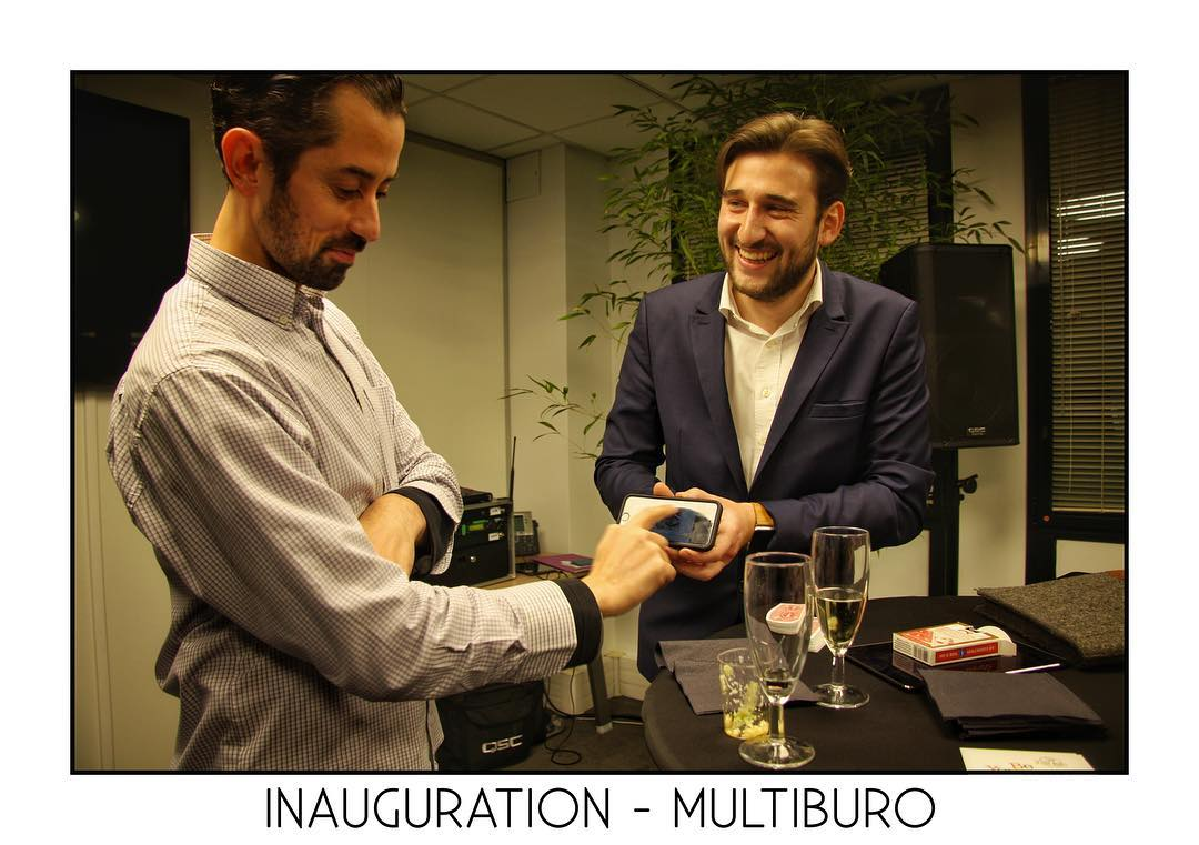 Magie iPad pour Multi Buro à Lille