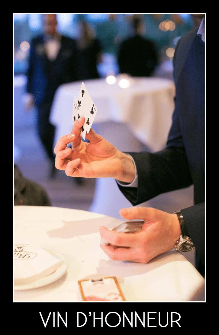 Tom Le Magicien - Vin D'honneur Mariage