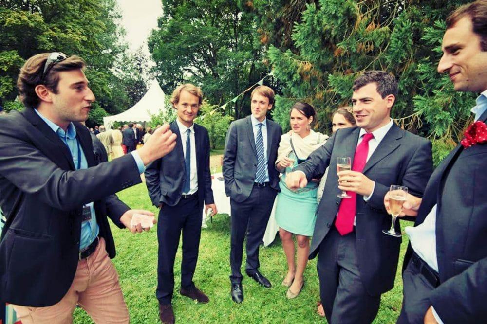 Magicien mariage à Lille pour un cocktail ou un vin d'honneur