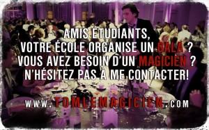 Tom le Magicien - Etudiants