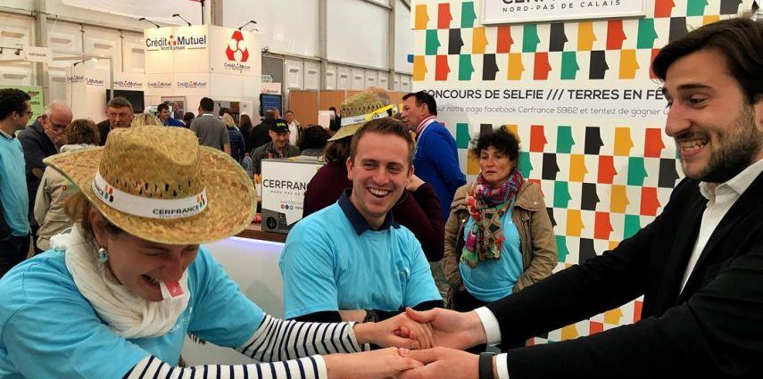 Salon Agricole Terres en Fête - Tom Le Magicien