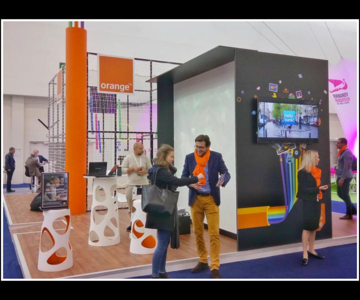 Salon pour Orange à Caen