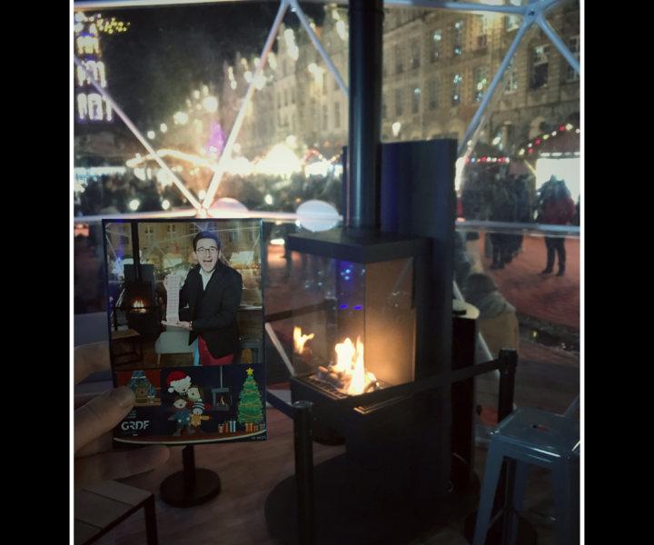 Marché d'Arras - Noel - Magicien