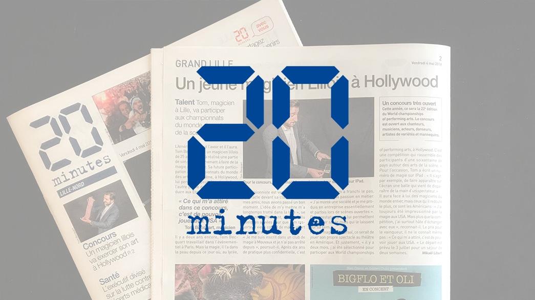 20 Minutes - Tom Le Magicien
