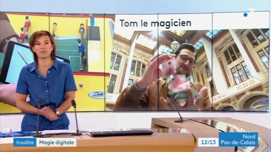Mentaliste à Paris passage tv sur france 3